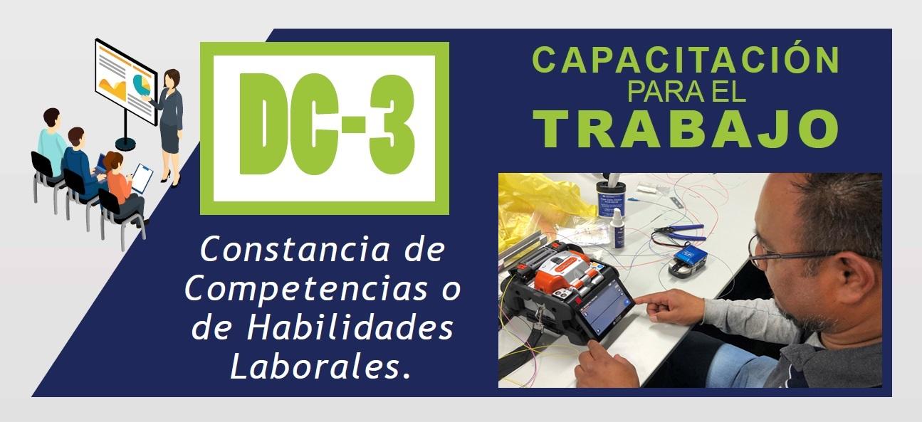 FIBRAS ÓPTICAS PARA TELECOMUNICACIONES – Certificación DC-3 de la STPS